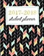 Student Planner: Weekly Academic Organizer: Gold, Coral & Cool Mint Accent Chevron (Planners & Organizers for High School, College & University Students) (Volume 1)