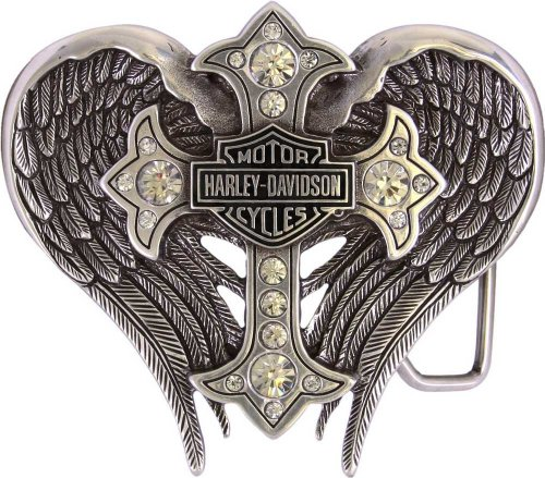 Harley Davidson Womens Winged Buckle HDWBU10453
