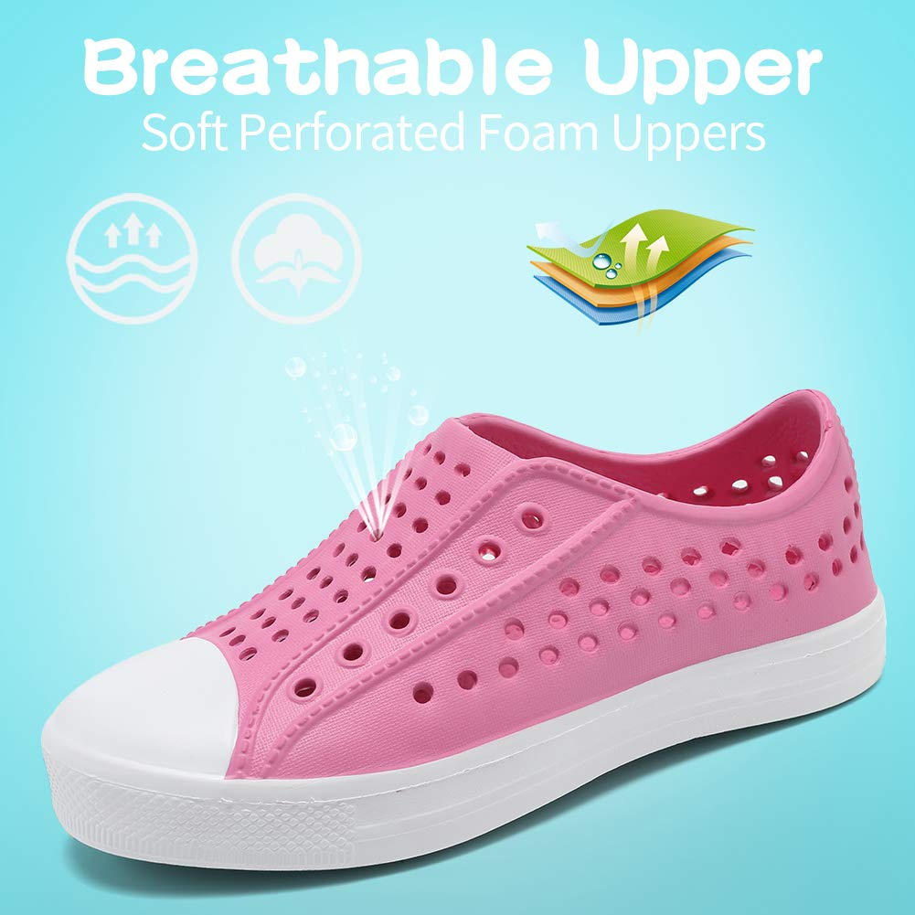Seannel Kids Slip-On Sneaker Lightweight/Breathable Sandal Water Shoes Outdoor /& Indoor