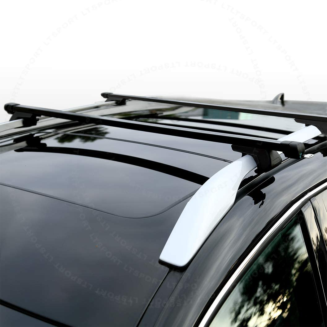 LT Sport 769553229305 for Toyota Top Rail Roof Rack 53 Cross Bar Cargo Carrier Kit