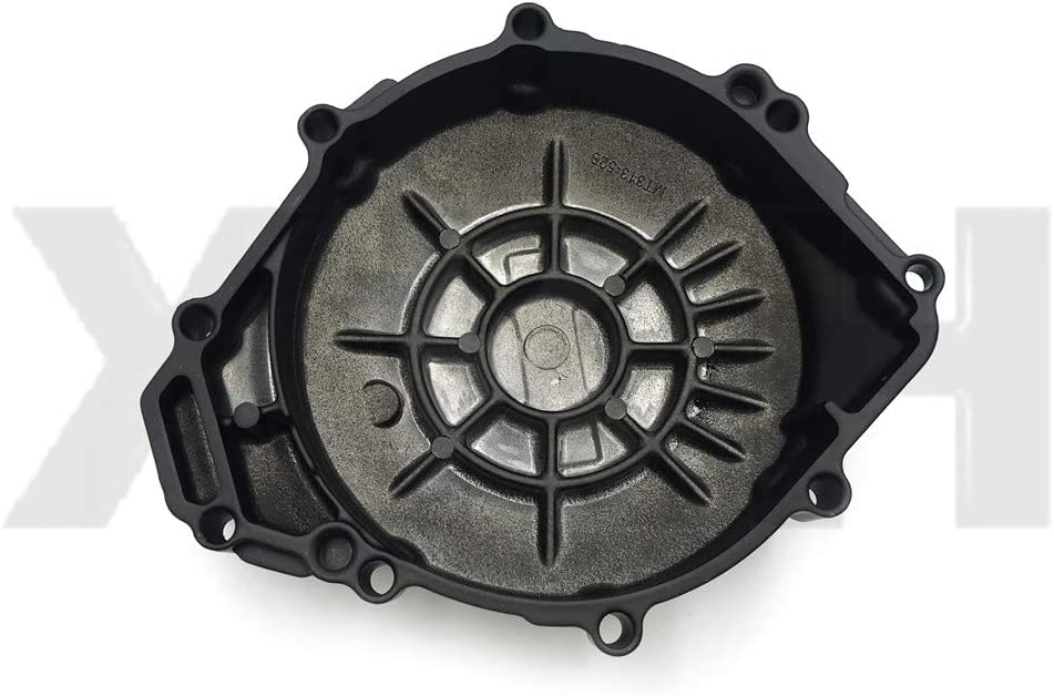 XKH Replacement of Left Engine Stator Cover Crankcase For YAMAHA YZF R1 1998-2003 Black Cover