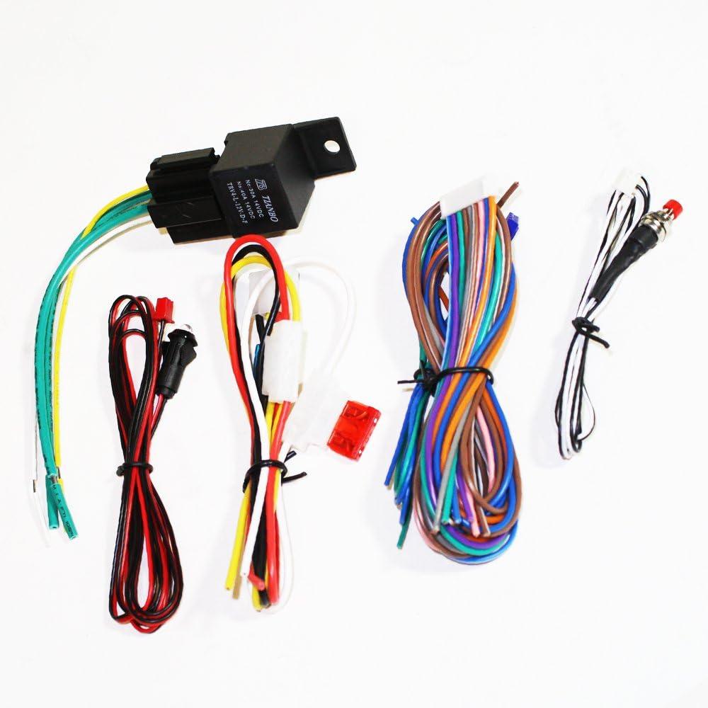 Gravity Car Alarm & Keyless Entry System w/External Shock Sensor ...