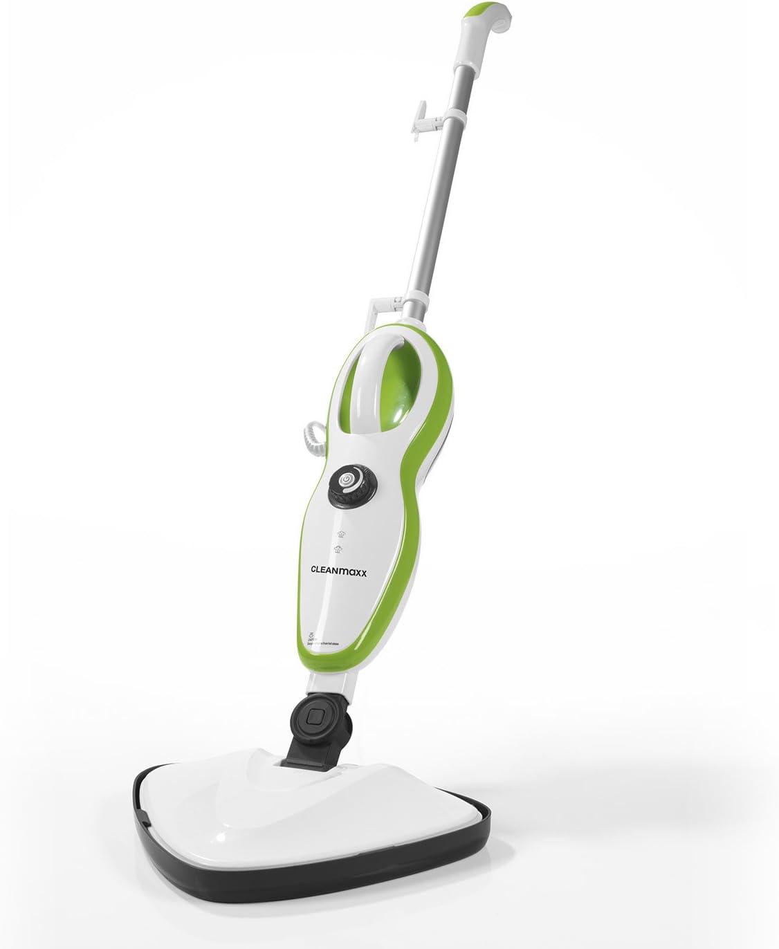 CLEANmaxx Limpiador de Vapor (Limpiador a Vapor 5 en 1)