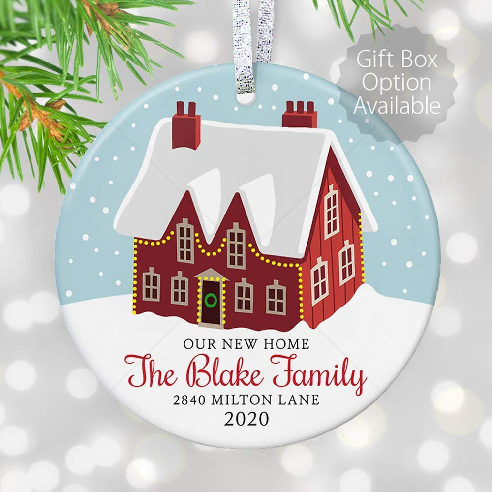 2020 Home Christmas Gifts Amazon.com: Our First Home Christmas Ornament 2020, House warming