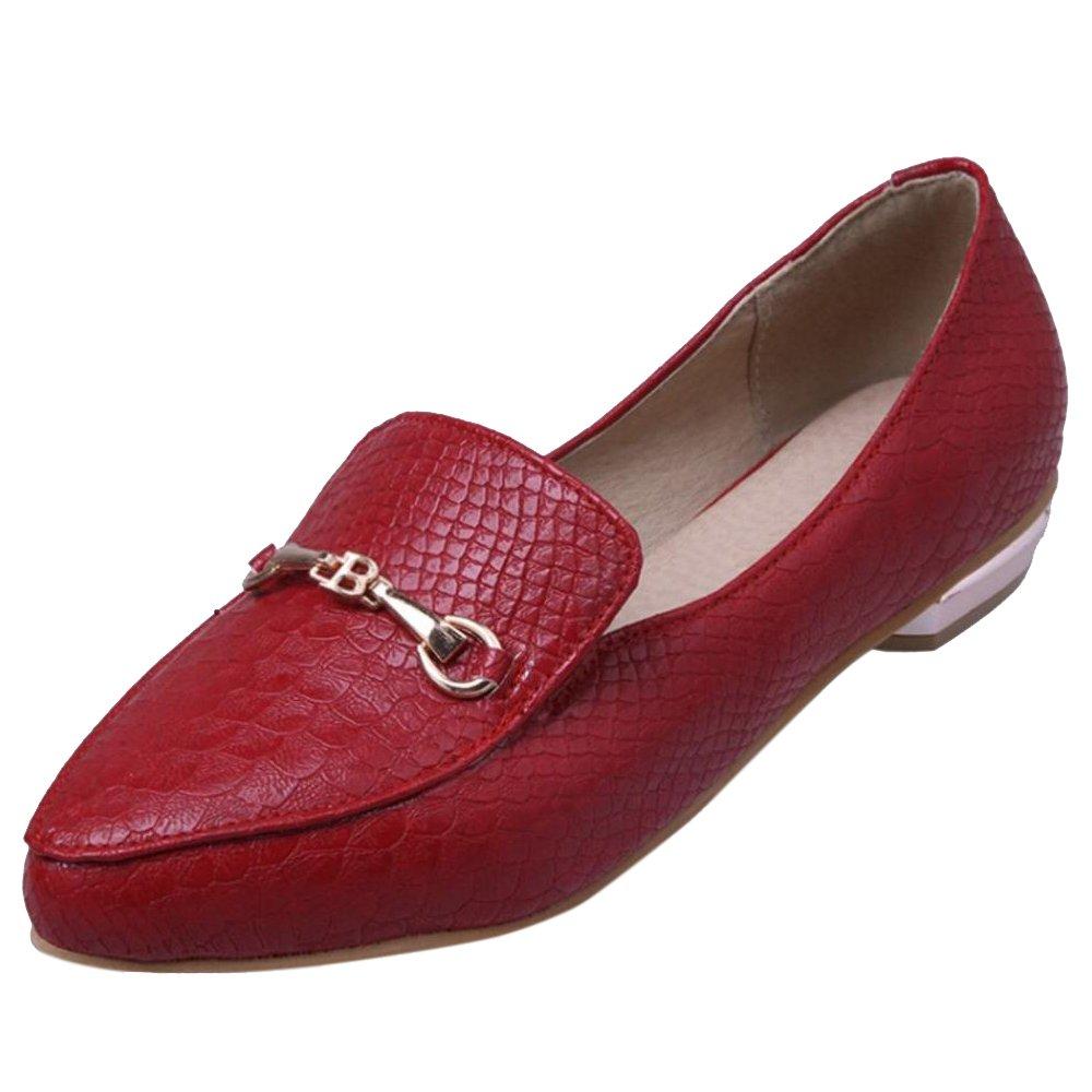 VulusValas VulusValas VulusValas Donna Casual Tacco Basso Scarpe rosso rosso Scarpe 3c9832   e87a5f