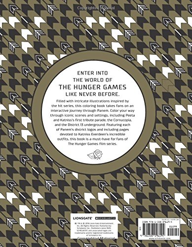 The World of the Hunger Games The Official Coloring Book