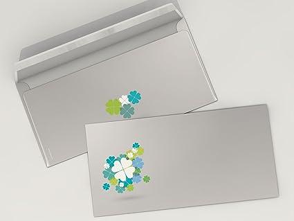 Diseño de papel para cumpleaños y felicitación Trébol de la ...