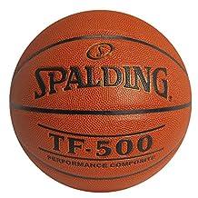 Spalding TF-500 Indoor Outdoor Basketball, 29.5-Inch