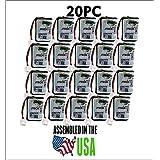 20PC 232020 JTech Battery, Restaurant Pager 2.4 v
