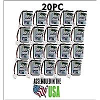 20PC 232020 JTech Battery , Restaurant Pager 2.4 v Battery