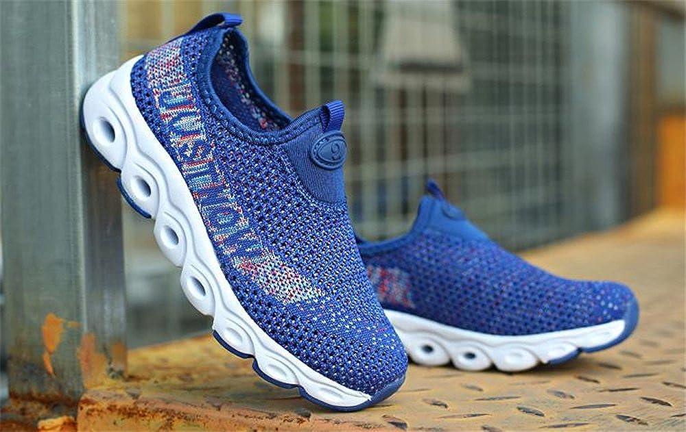 Bon Soir Kids mesh Flexible Lightweight Slip On Creeper Sneaker Running Shoes