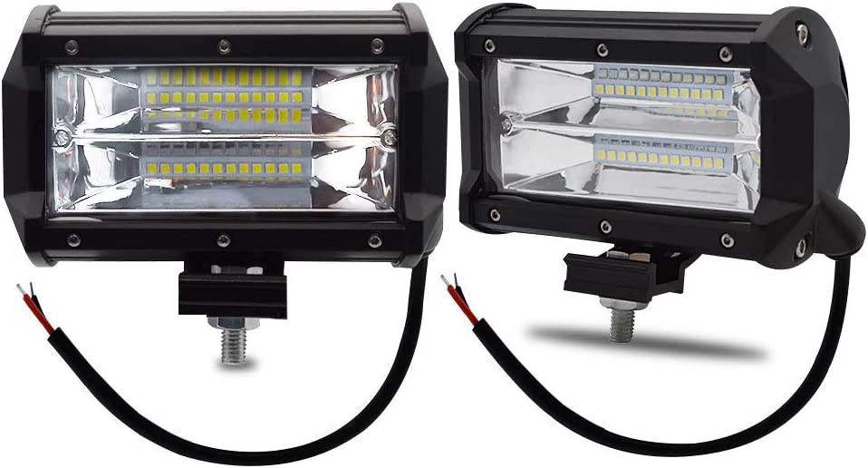 BeiLan 36W LED Work Lights Bar Cree Spot Beam Offroad Car Trucks Boat Tractor ATV Fog Driving Lamp 12V//24V Work Light Bar