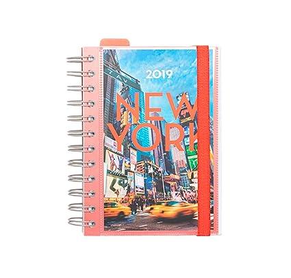 Grupo Erik Editores AGEDP1911 - Agenda anual 2019 con diseño New York, día pagina