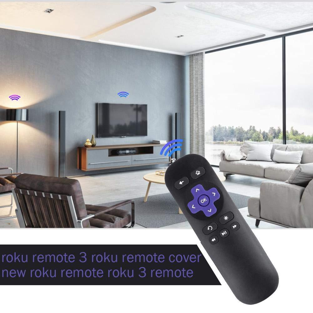 Clarkit Nuovo Telecomando a infrarossi Wireless di Ricambio per Roku 1 2 3 4 LT HD XD XS