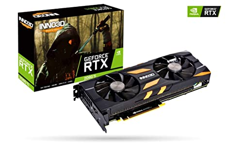 Inno3D GeForce RTX 2080 Ti Twin X2 - Tarjeta gráfica: Amazon ...