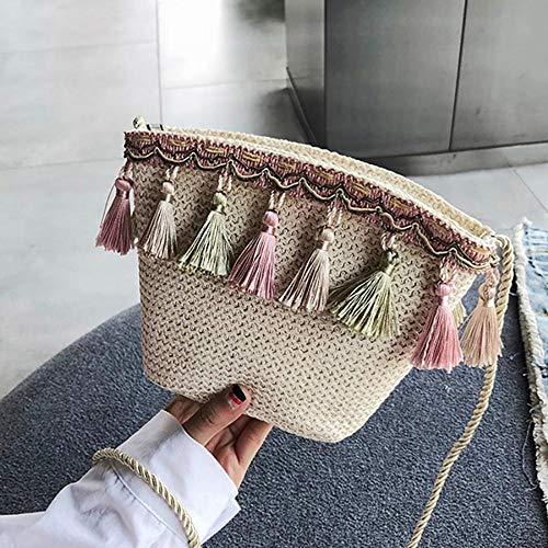 Mujer única Mangetal para al Talla Caqui Hombro Bolso marrón qW0zRn0Iw