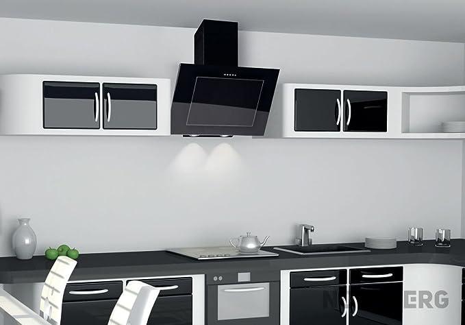 Nort Berg Dynamic Campana extractora, pared, 80 cm, color blanco: Amazon.es: Hogar