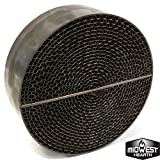 Midwest Hearth Wood Stove Catalytic Combustor Replacement Catalyst Dutchwest Englander (6'' x 2'' Round Metal)