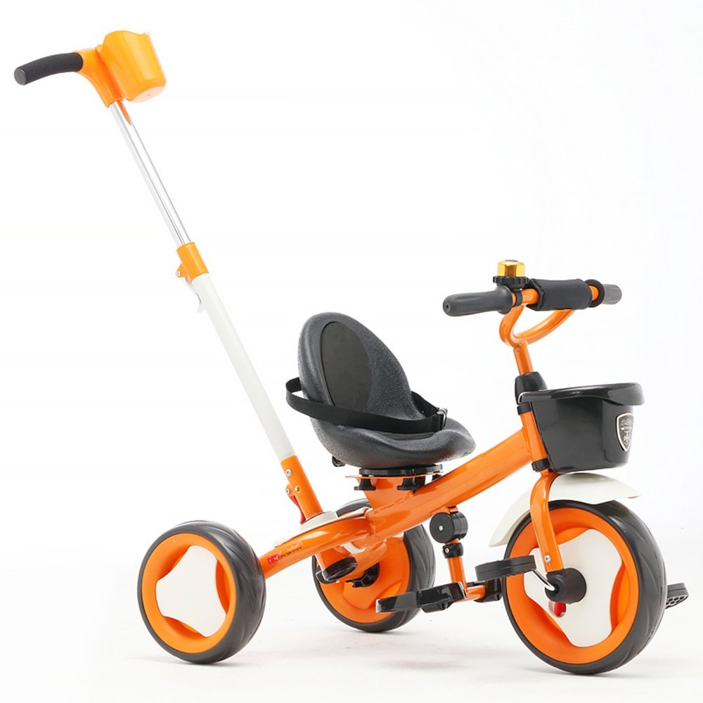 Kids Bicycles Meiduo Trike子3ホイール子供Tricycle Boys and Girls 3-wheeler B07FRYHV4H  オレンジ