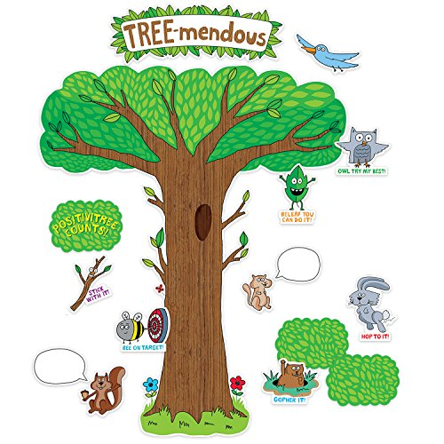 Creative Teaching Press So Much Pun Tree-mendous Bulletin Board Set (3106)