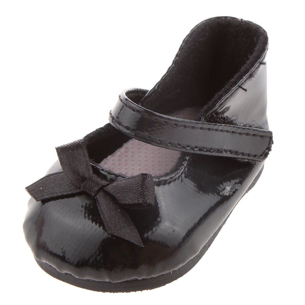 Fashion Black Shoes for American Girl Doll Generic