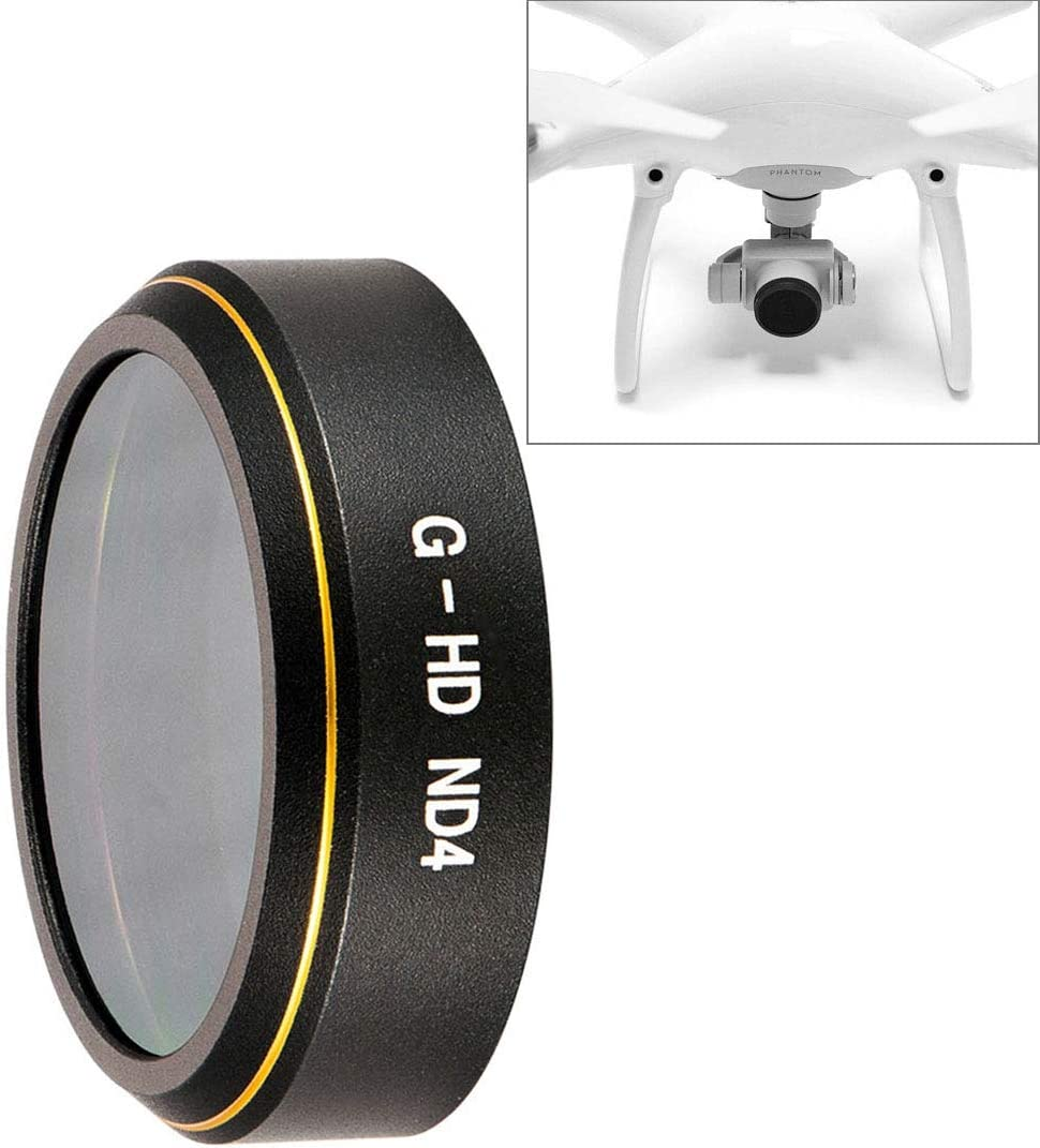 JINGZ HD Drone Grey ND Lens Filter for DJI Phantom 4 Pro Durable Color : Color2
