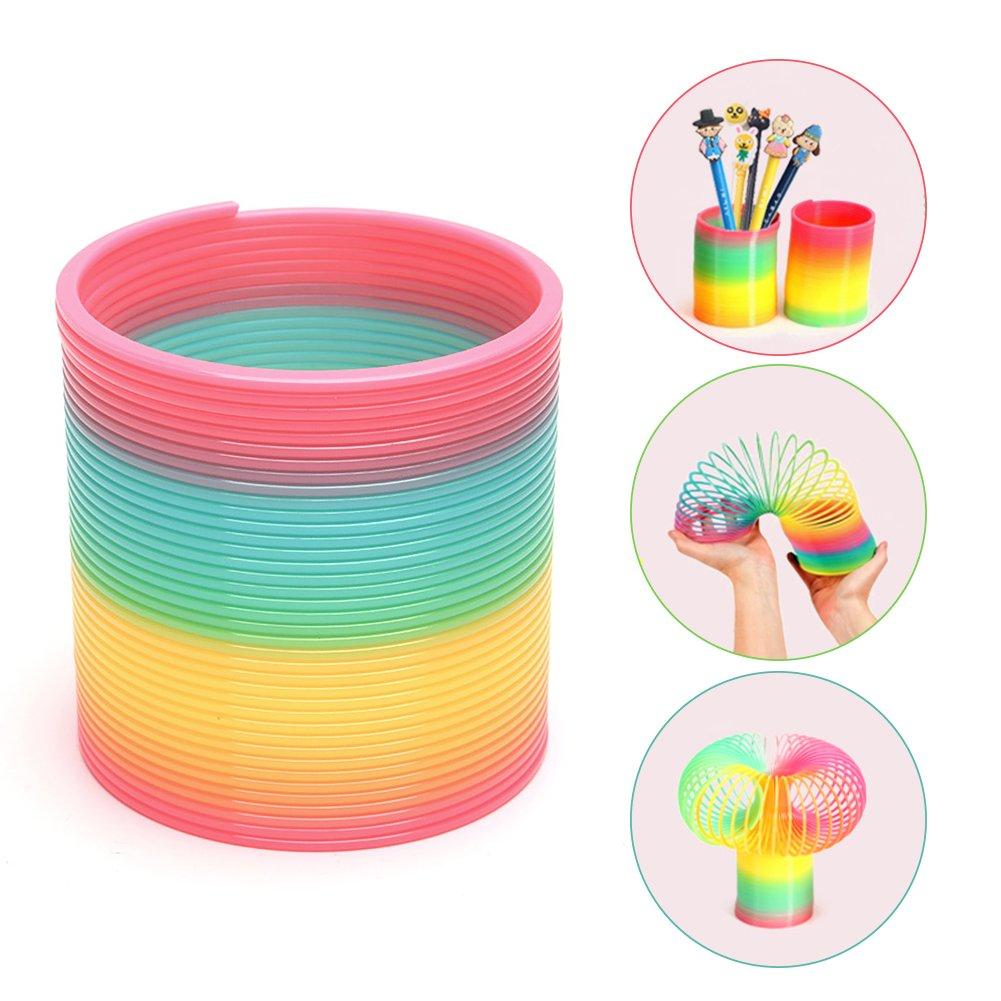 POPLAY Beautiful Rainbow Magic Spring/Slinky Rainbow/Slinky Slinky POP BABY