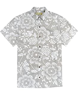 33520811 Kahala Men's Dukes Pareo Full Button Front Shirt at Amazon Men's ...