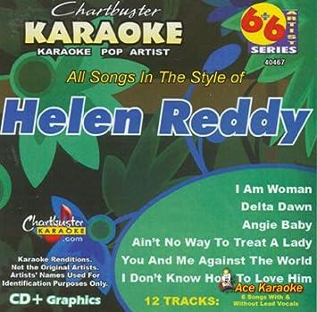 Chartbuster Karaoke 6X6 CDG CB40467 - Helen Reddy - Amazon