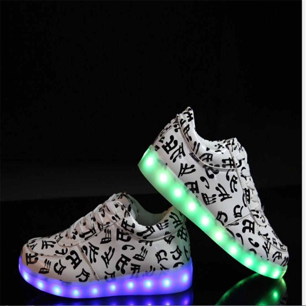 a5810dd62 Aizeroth-UK LED Zapatos Verano Ligero Transpirable Bajo 7 Colores USB Carga  Luminosas Flash Deporte Ampliar imagen