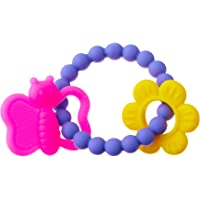Nuby Chewy Charms Silicone Teether (assorted colors)