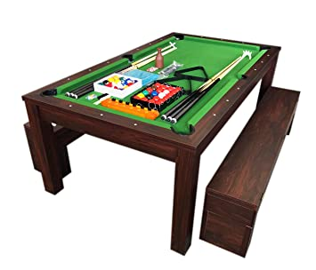 grafica ma ro srl 7 ft green pool table billiard indoor with rh amazon co uk