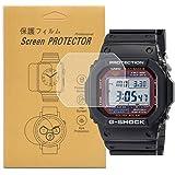 [5-Pcs]For Casio GW-M5610 / GWM5610 Watch Screen Protector, Full Coverage Screen Protector Watch HD Clear Anti-Bubble…