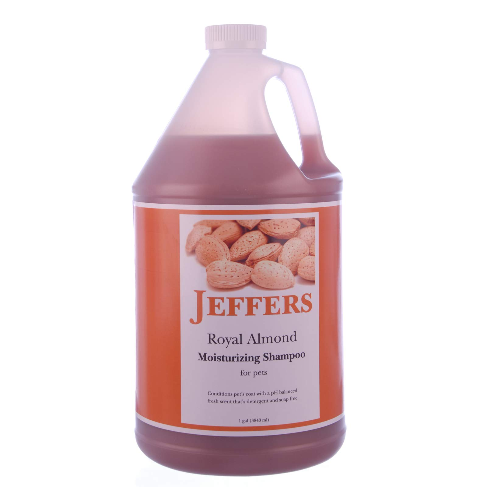 Jeffers Royal Almond Moisturizing Shampoo, 1 Gallon by Jeffers