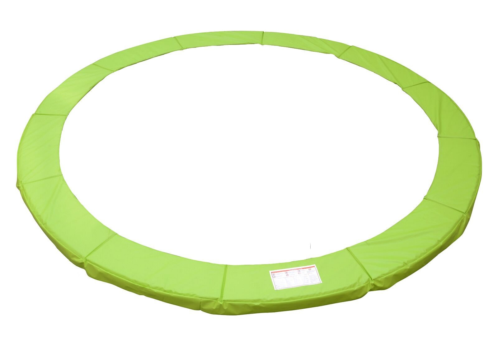 Exacme Trampoline Replacement Safety Pad Frame Spring Light Green Color Round Cover (15 ft) by Exacme