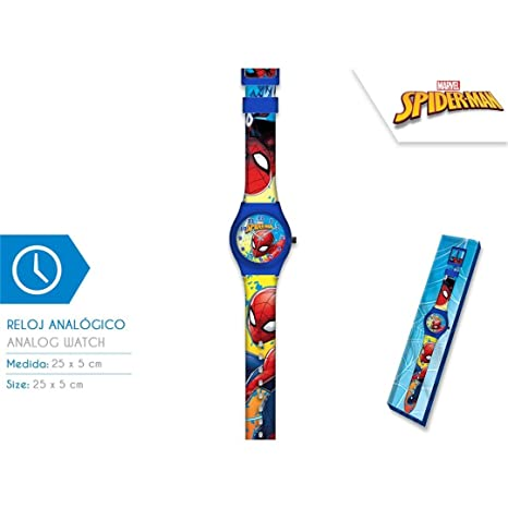Reloj Spiderman para Unisex Niños KD-MV15409