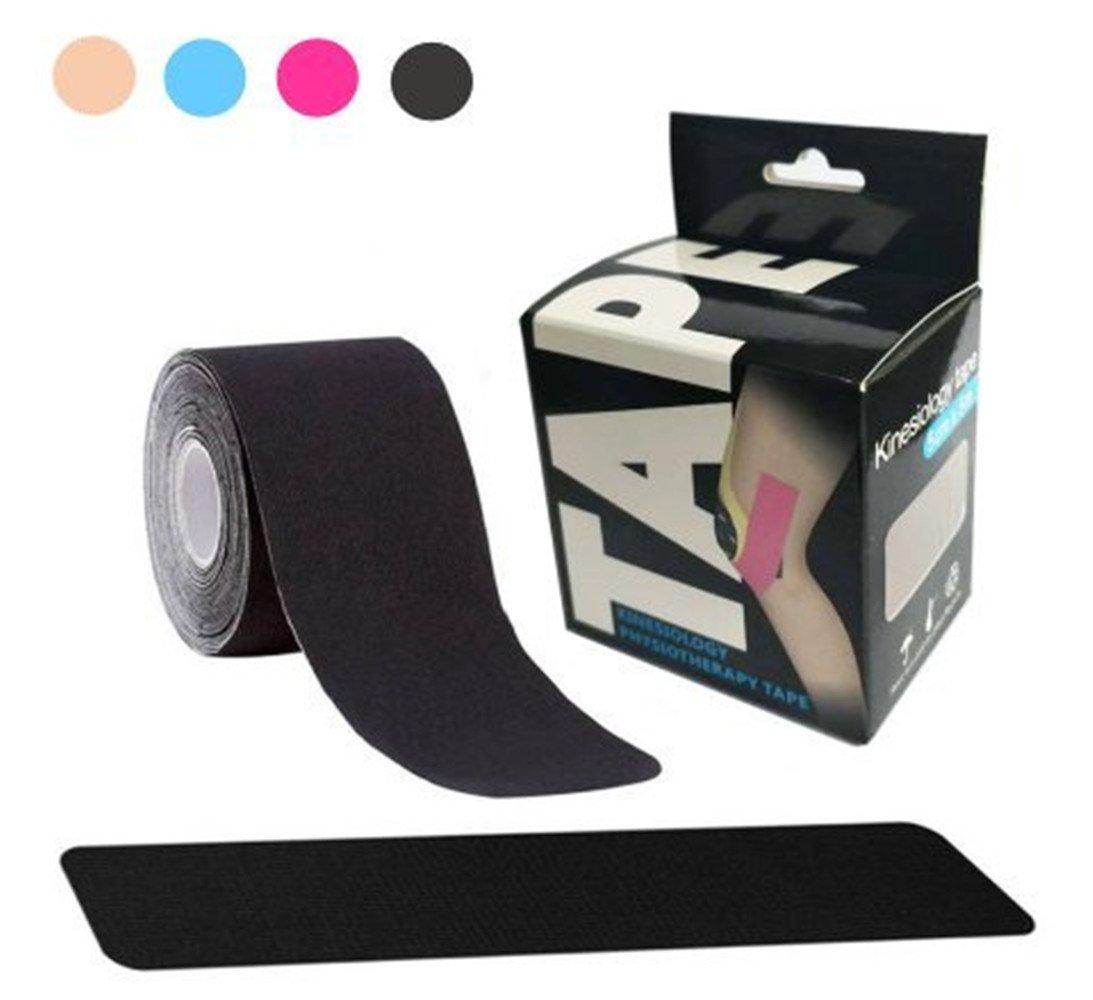 Kinesiology Sports Tape, Elastic Adhesive Latex Free Waterproof Athletic Tape