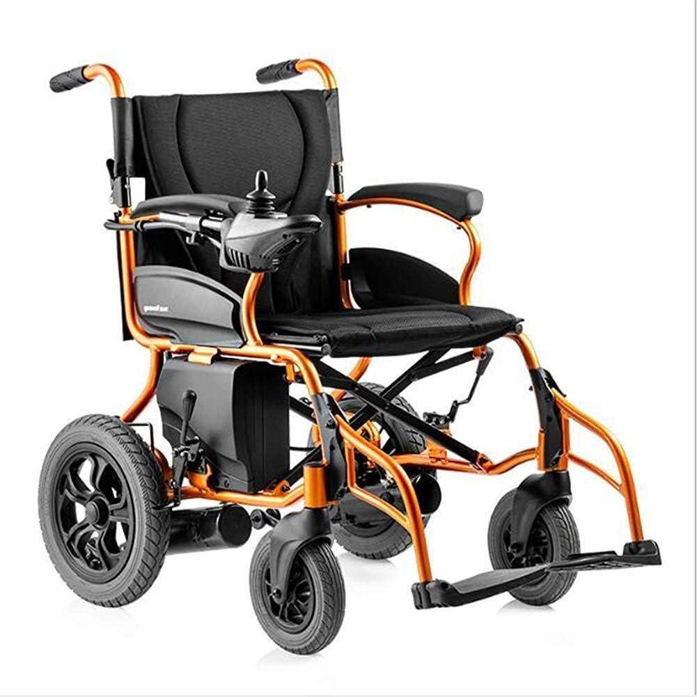 Yeeseu Silla de rehabilitación médica, Silla de ruedas, Silla de ruedas eléctrica, inteligente multi-función de cuatro ruedas-durable de sillas de ruedas eléctricas, ancianos y discapacitados con sill