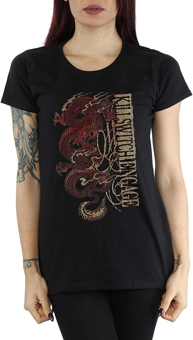 Official Bullet For My Valentine Temper Temper Filigree Women/'s Fitted T-Shirt