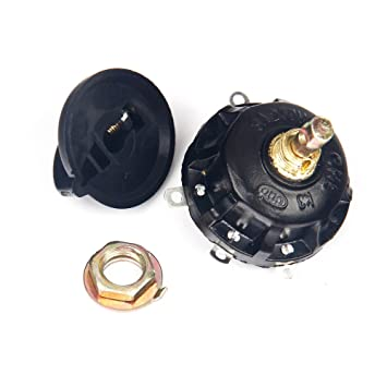 4-position 3-speed Fan Selector Rotary Switch Governor With Knob 13amp 120v-250v Fan Parts