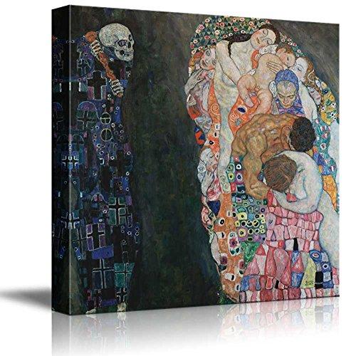 Death and Life by Gustav Klimt Austrian Symbolist Painter