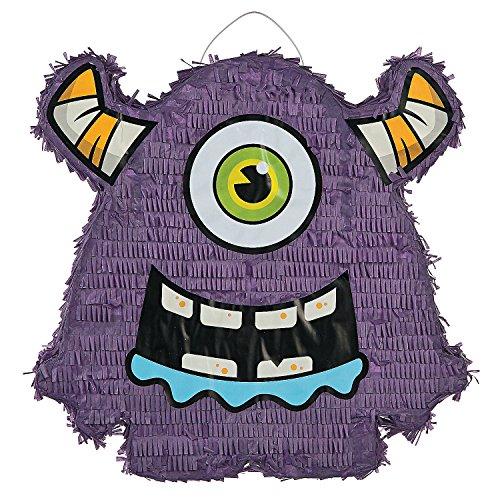Fun Express - Monster Bash Pinata for Halloween - Party Decor - General Decor - Pinatas - Halloween - 1 Piece]()