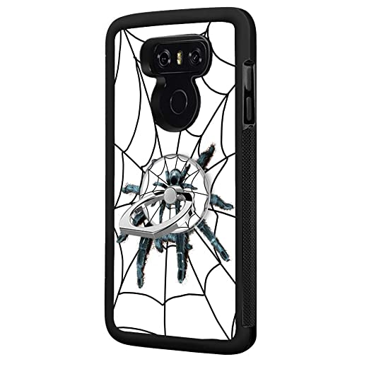Amazon Com Big Hairy Spider Lg G6 Case With Ring Holder Stand Tpu