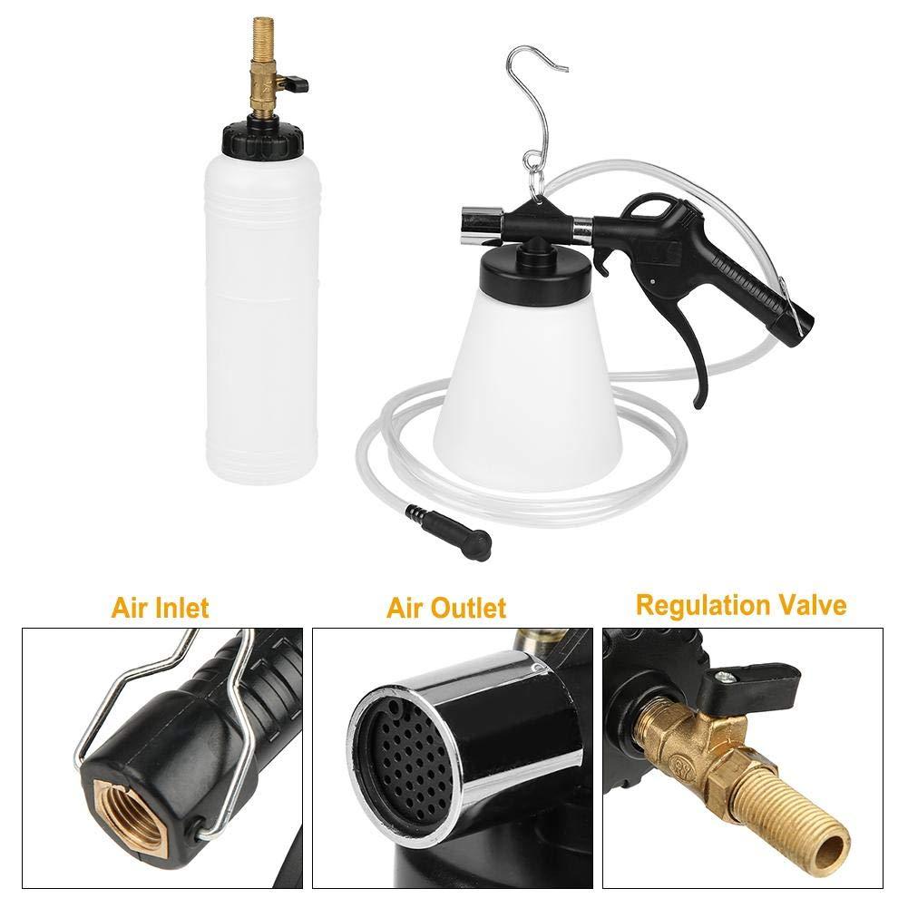 Akozon Pneumatic Brake Fluid Bleeder Car Brake Fluid Bleeder Oil Pumping Machine Brake Oil Replacement Tool Kit by Akozon (Image #4)