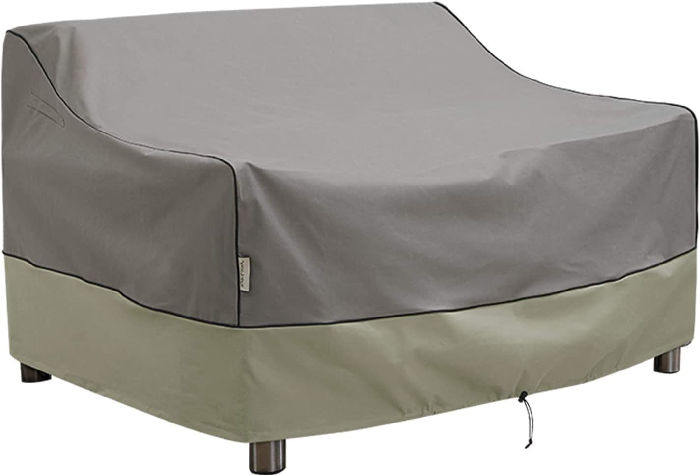 Kylinlucky Outdoor Furniture Covers Waterproof, Heavy Duty Bench Loveseat Cover - Patio Sofa Covers Fits up to 58W x 32.5D x 33H inches