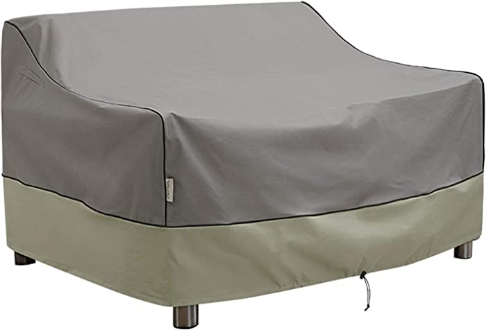 KylinLucky Outdoor Furniture Covers Waterproof, Patio Loveseat Cover Fits up to 48W x 26D x 33H inches