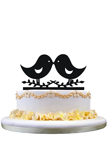 The Bird Of Happiness Love Birds Cake Topper Bird Wedding Cake
