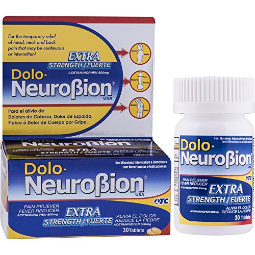 Dolo Neurobion 30 Tablets - Pain Reliever, Fever Reducer, Ex..