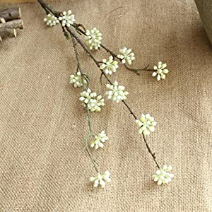 Inverlee 1Pcs 13Heads Artificial Flowers Gypsophila Floral Fake Flowers Wedding Bridal Bouquet DIY Home Garden Decor 71