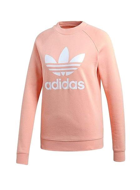 adidas Felpe TRF Crew Rosa Donna: Amazon.it: Abbigliamento